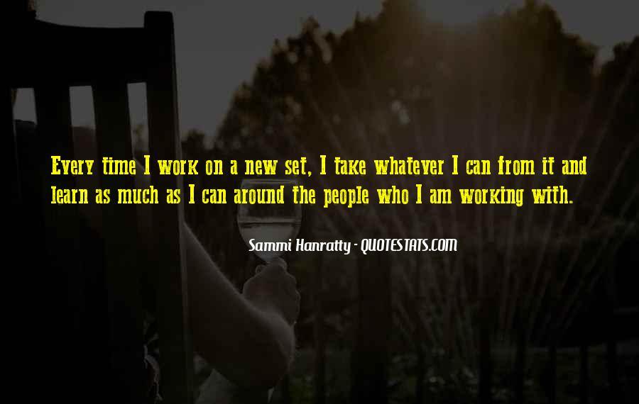 Sammi Hanratty Quotes #1812651