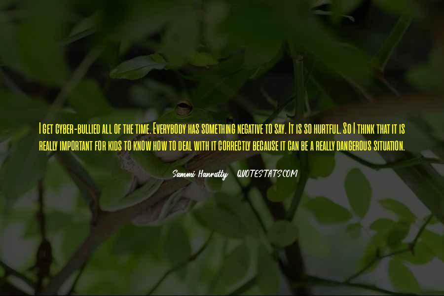 Sammi Hanratty Quotes #1819671