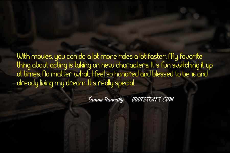 Sammi Hanratty Quotes #357505