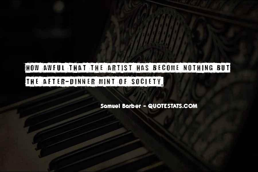 Samuel Barber Quotes #42513