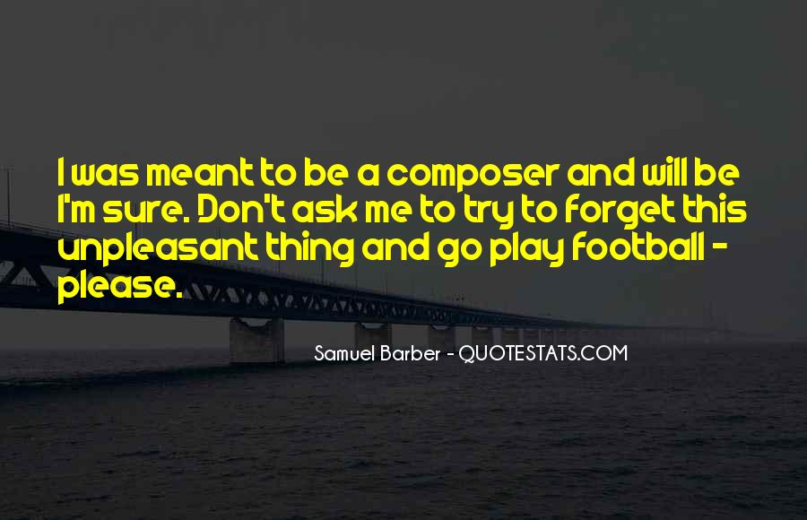 Samuel Barber Quotes #90142