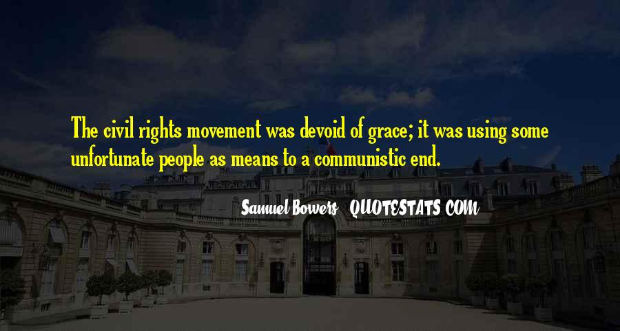 Samuel Bowers Quotes #435847