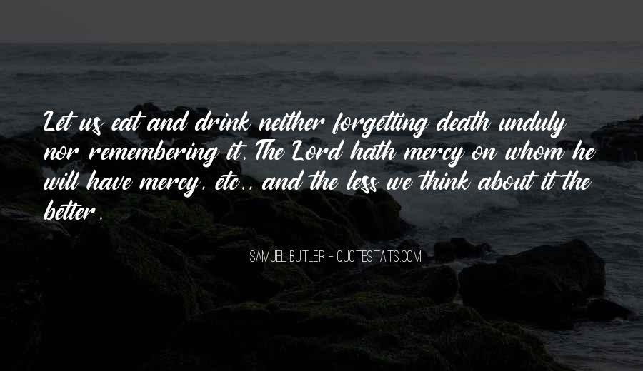 Samuel Butler Quotes #1058523