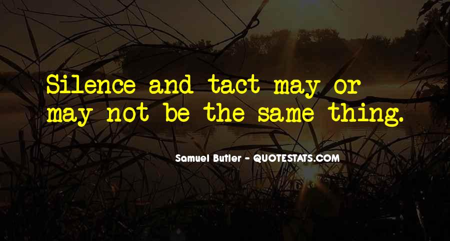 Samuel Butler Quotes #1074470