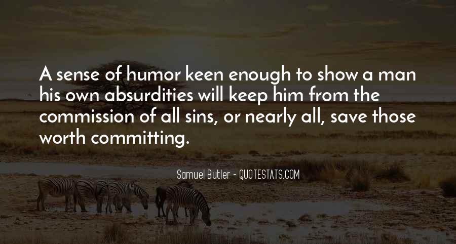 Samuel Butler Quotes #1207725