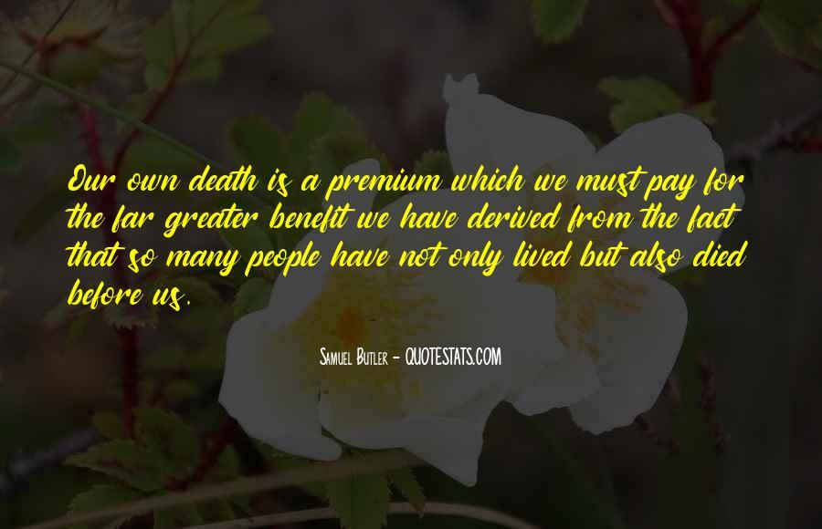 Samuel Butler Quotes #1218660