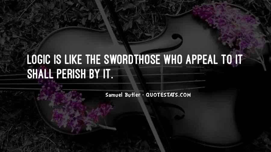 Samuel Butler Quotes #139277