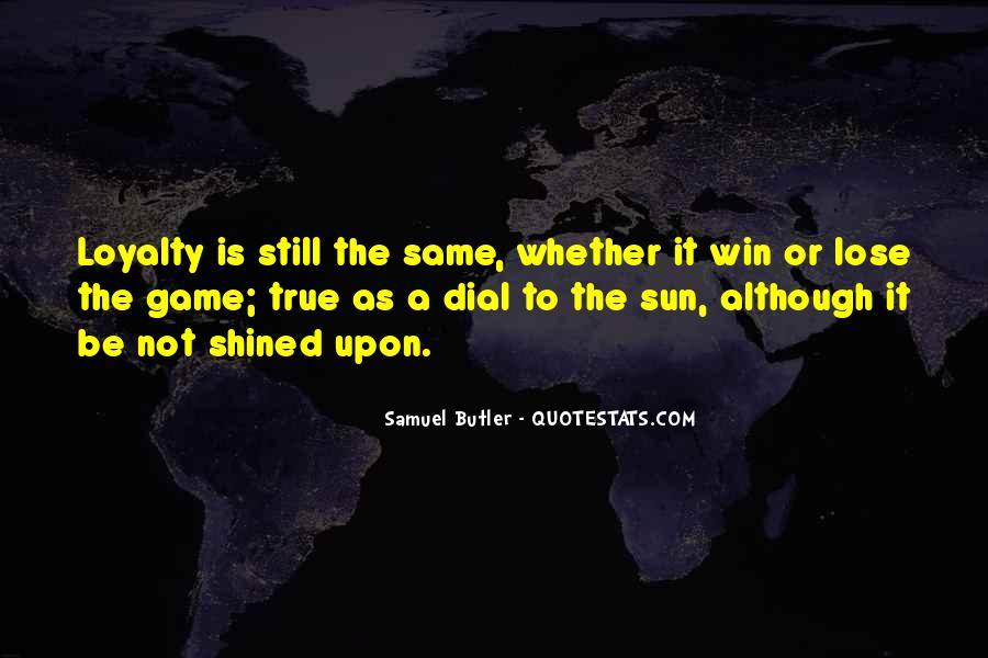 Samuel Butler Quotes #146938