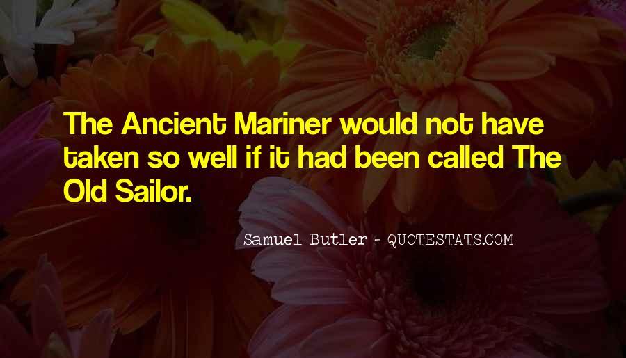 Samuel Butler Quotes #1611736
