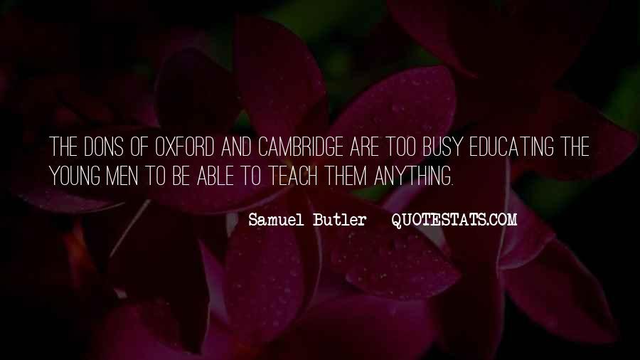 Samuel Butler Quotes #1686963