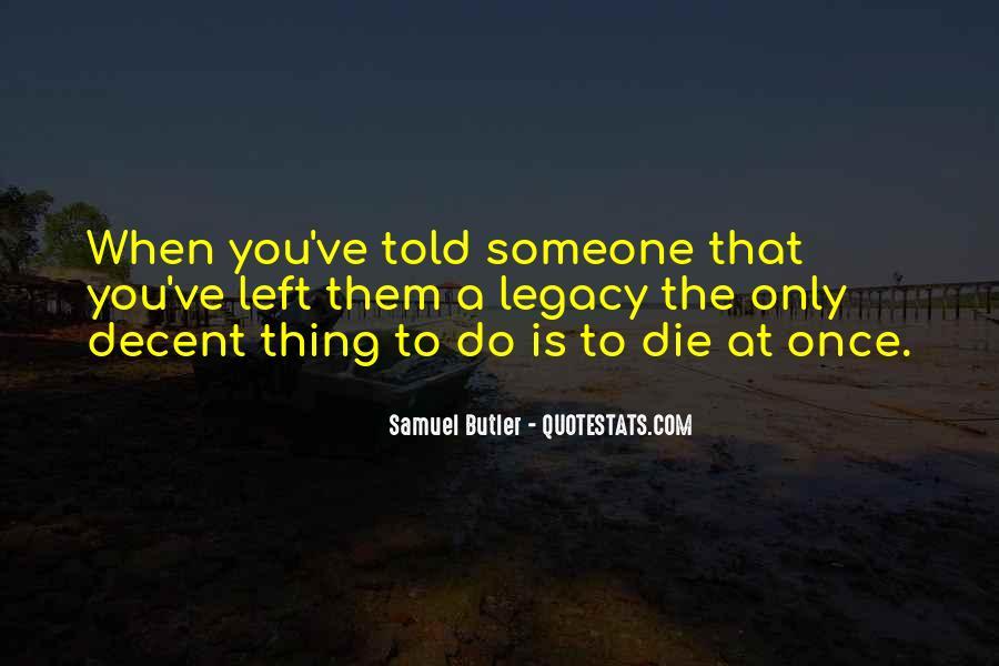 Samuel Butler Quotes #1714010