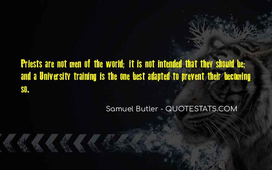 Samuel Butler Quotes #174218