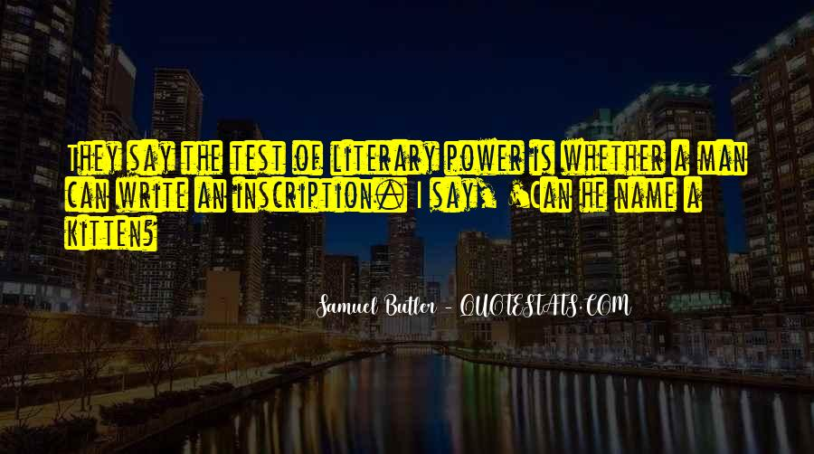 Samuel Butler Quotes #1810516