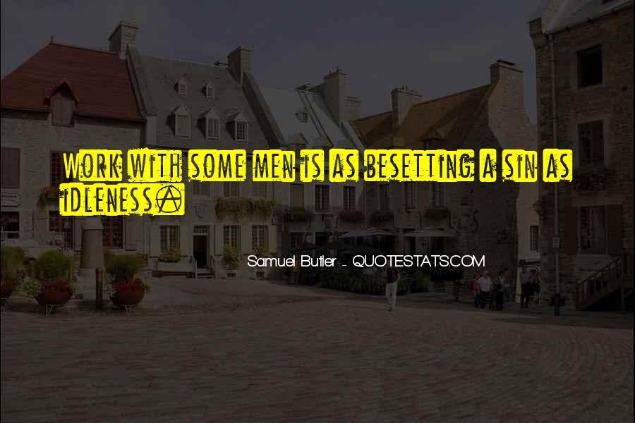 Samuel Butler Quotes #1830792