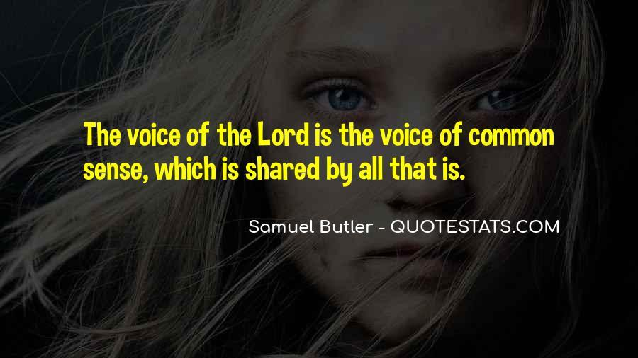 Samuel Butler Quotes #1854828