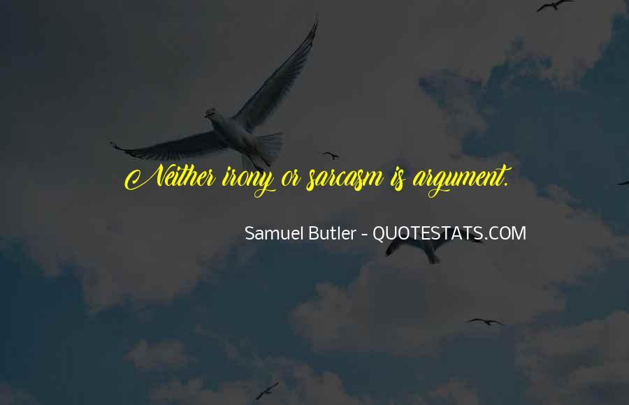Samuel Butler Quotes #231840
