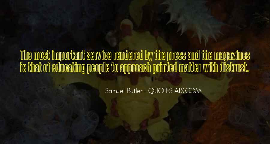 Samuel Butler Quotes #26818