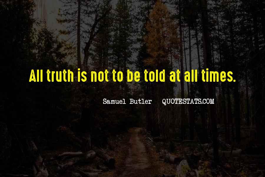 Samuel Butler Quotes #355472