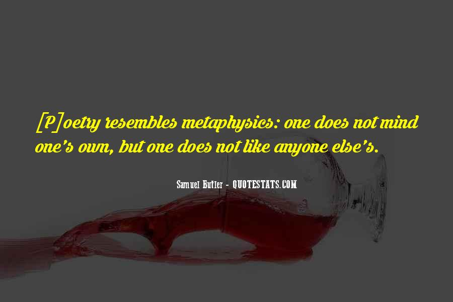 Samuel Butler Quotes #535116