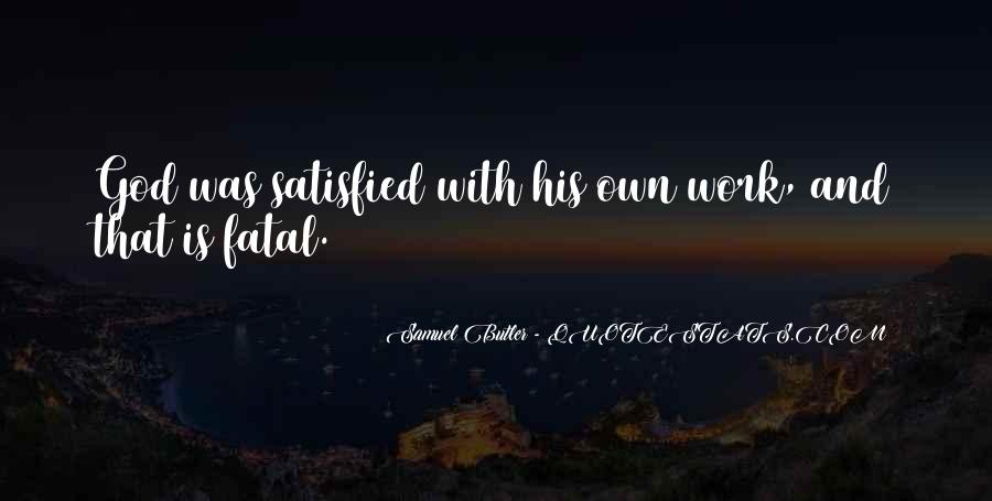 Samuel Butler Quotes #569467