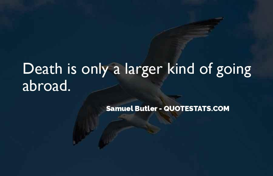 Samuel Butler Quotes #601503
