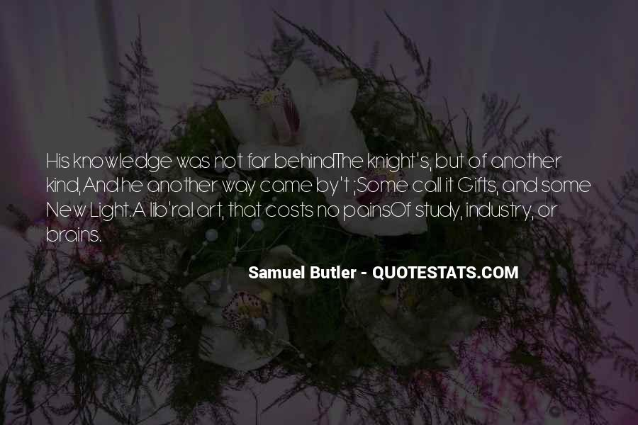 Samuel Butler Quotes #643989
