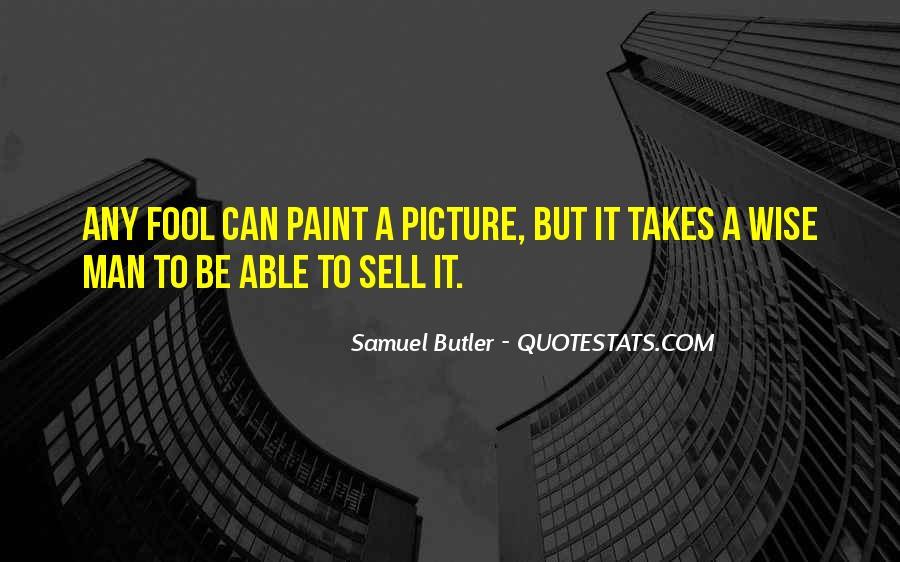 Samuel Butler Quotes #678958