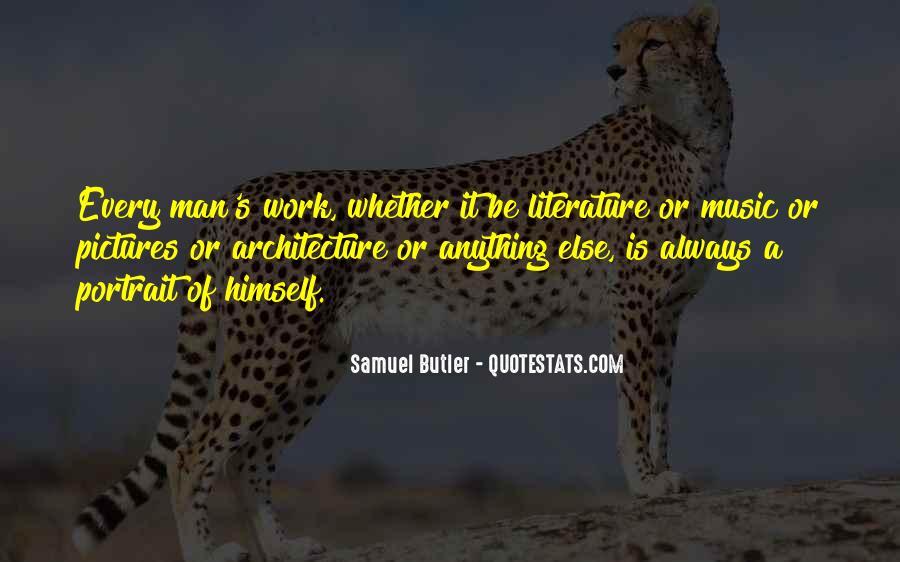 Samuel Butler Quotes #759058