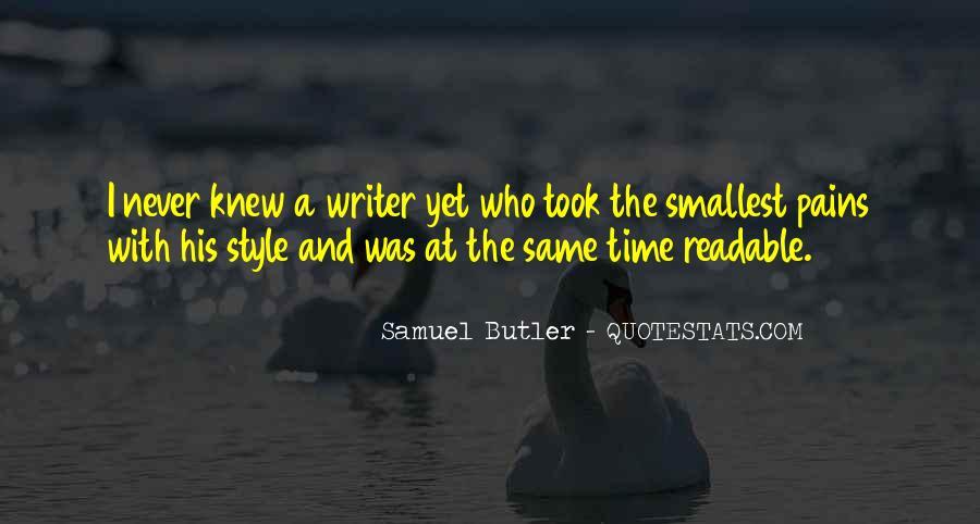 Samuel Butler Quotes #82248