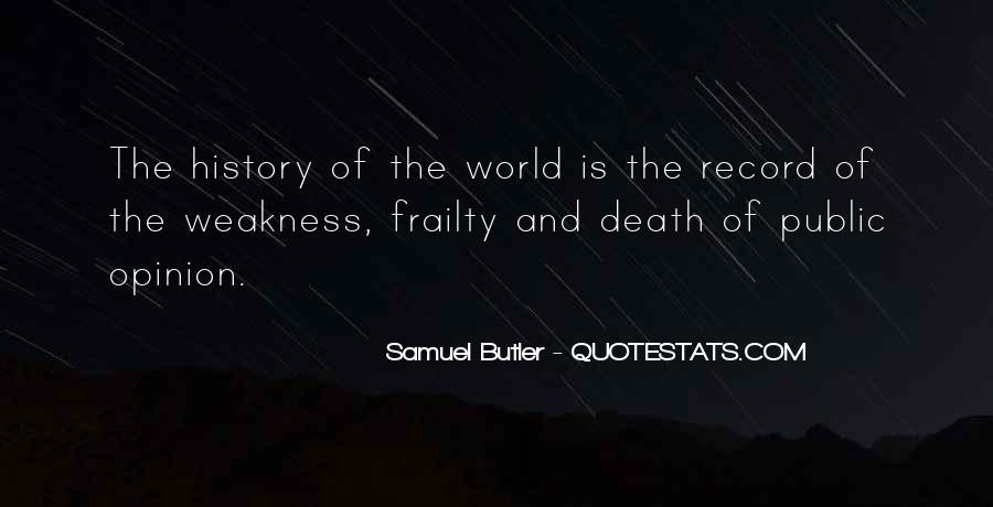 Samuel Butler Quotes #853031