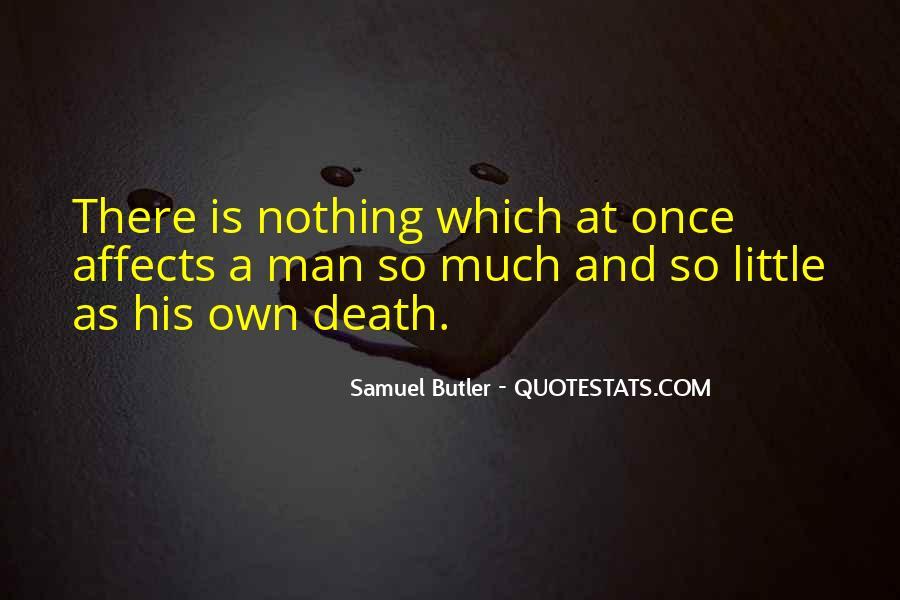 Samuel Butler Quotes #917630
