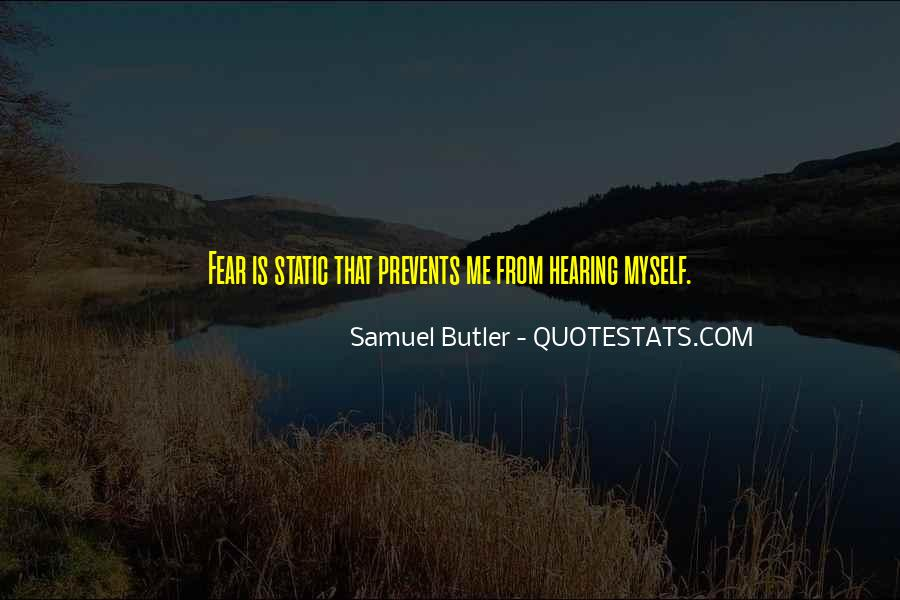 Samuel Butler Quotes #980958