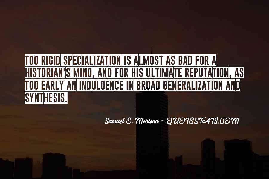 Samuel E. Morison Quotes #1228849