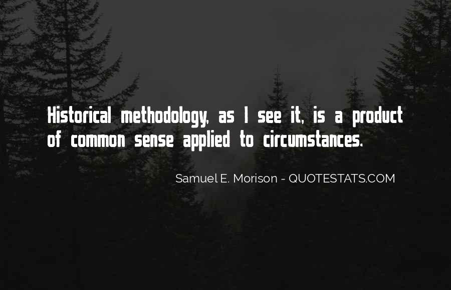 Samuel E. Morison Quotes #860477