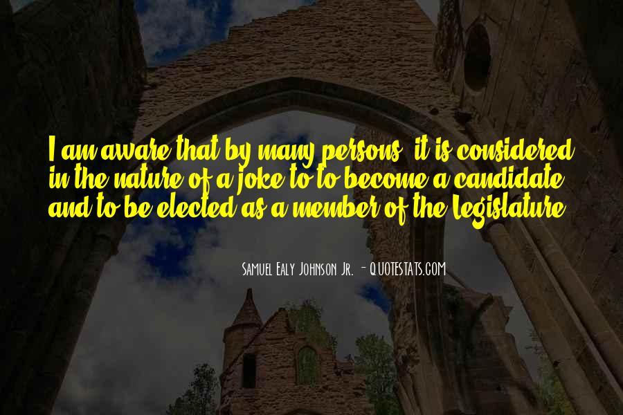 Samuel Ealy Johnson Jr. Quotes #142154