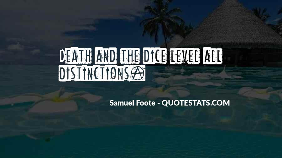 Samuel Foote Quotes #1850765
