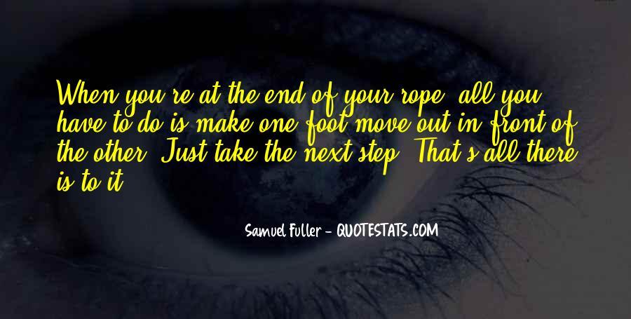 Samuel Fuller Quotes #1233232