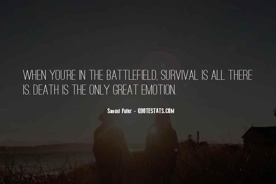 Samuel Fuller Quotes #266231