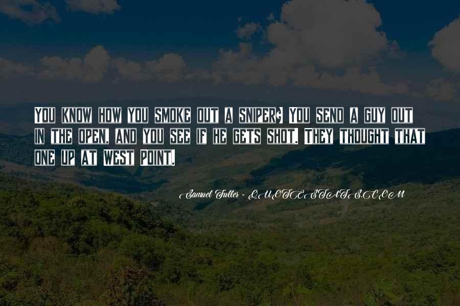 Samuel Fuller Quotes #813355