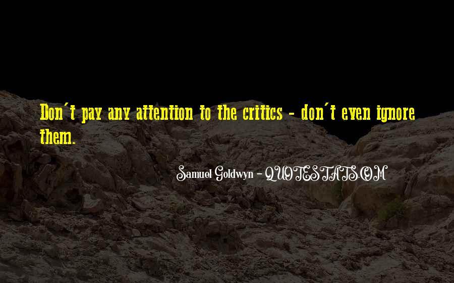 Samuel Goldwyn Quotes #1012830