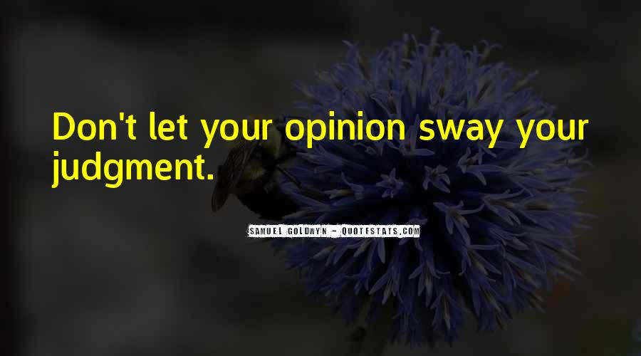 Samuel Goldwyn Quotes #1279990