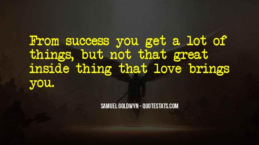 Samuel Goldwyn Quotes #654062