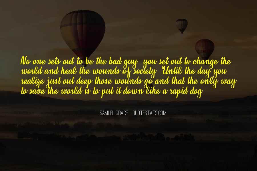 Samuel Grace Quotes #290482