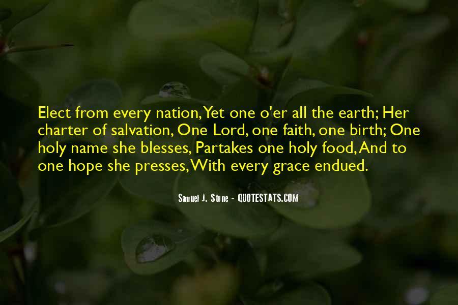 Samuel J. Stone Quotes #1790430