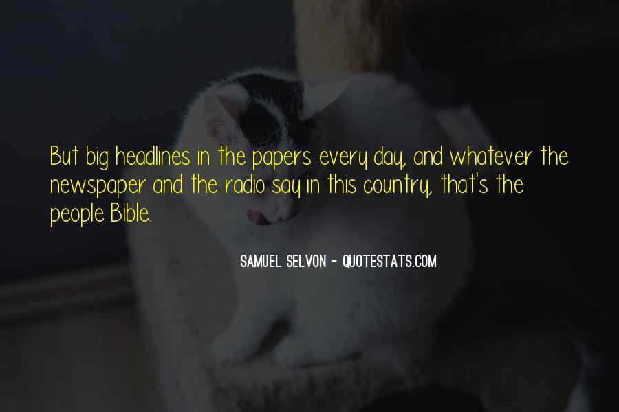 Samuel Selvon Quotes #837914