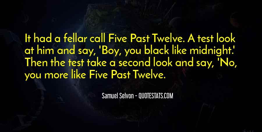 Samuel Selvon Quotes #905026