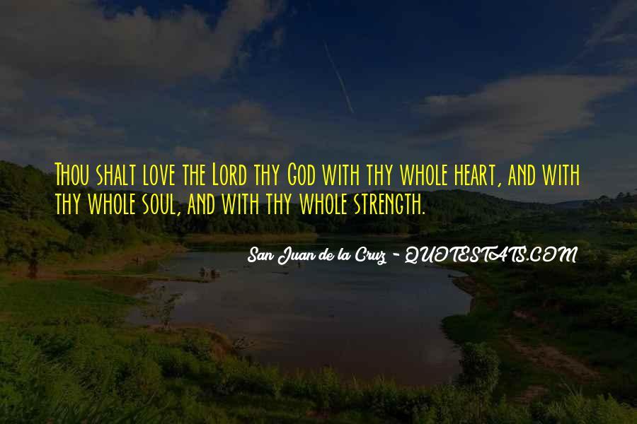 San Juan De La Cruz Quotes #1194693