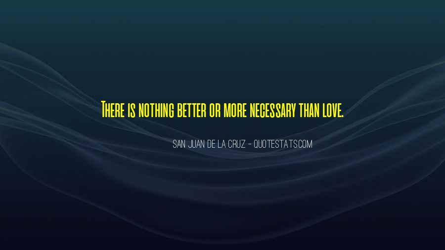 San Juan De La Cruz Quotes #122011