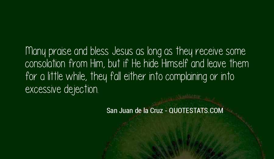 San Juan De La Cruz Quotes #1799774