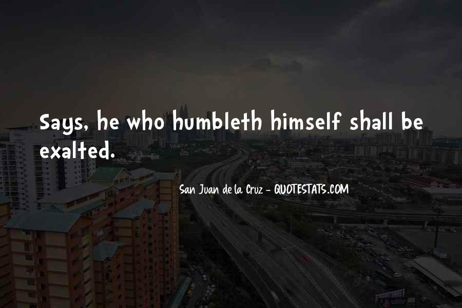 San Juan De La Cruz Quotes #539062